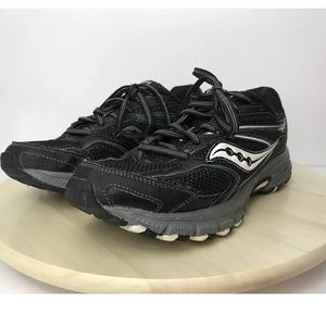 Saucony Womens Running Athletic Sneaker Black 8.5